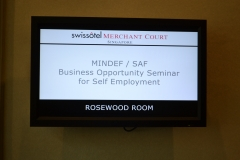 Speaking at Mindef / SAF event