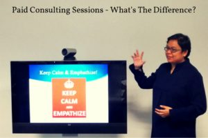 Paid Consulting Sessions – What's The Difference?